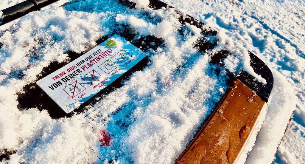 Tipps zur Biotonne im Winter- im Blog von #WIRFUERBIO