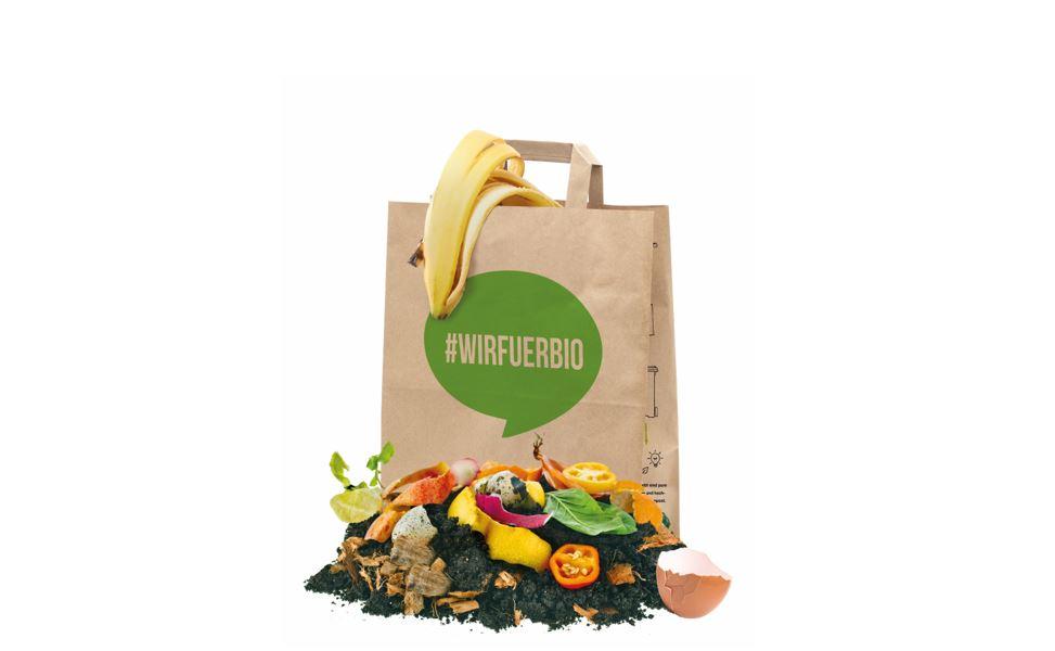 #WIRFUERBIO-Papiertüten jetzt auch im Stöberparadies und der Verbraucherzentrale Minden erhältlich