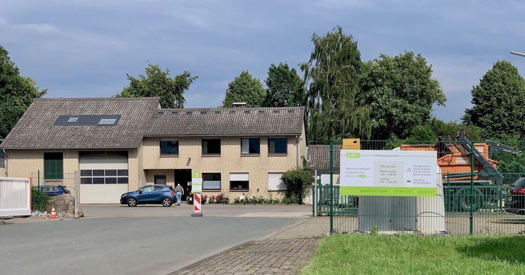 Wertstoffhof Lübbecke
