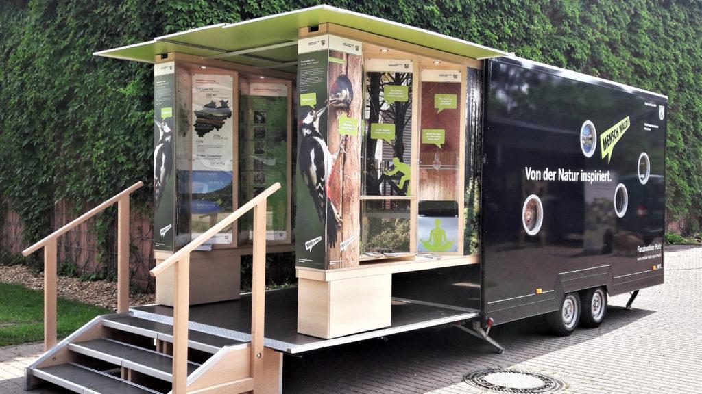 """""""Mobile Holz-Expo.NRW"""" ein Erfolgsmodell auf Tour"""