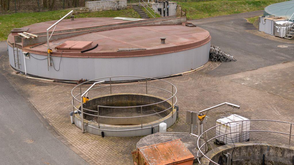 Sickerwasser-Kläranlage Heisterholz
